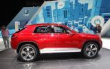 Geneva 2012: VW Cross Coupe concept