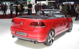 Geneva: VW Golf GTI cabrio