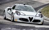 Alfa Romeo 4C sets Nurburgring record