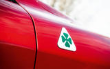 Alfa Romeo Stelvio Quadrifoglio 2019 road test review - quadrifoglio badge