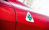 Alfa Romeo Stelvio Quadrifoglio 2019 road test review - quadrifoglio badge