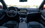 Alpina B3 2020 road test review - dashboard