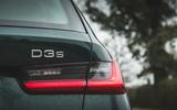 8 alpina d3 touring 2021 uk first drive review rear lights