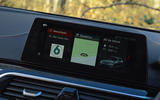 Alpina D5 S review infotainment