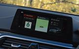 Alpina D5 S review infotainment