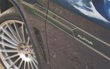 Alpina XD3 2019 UK road test review - decals