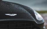 Aston Martin DBX 2020 road test review - bonnet badge