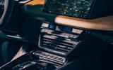 8 audi e tron gt 2021 lhd uk first drive review centre console