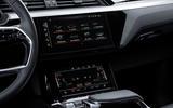Audi E-tron Sportback 2020 road test review - infotainment