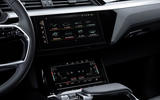 Audi E-tron Sportback 2020 road test review - infotainment