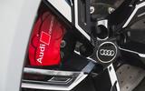 Audi RS6 Avant 2020 road test review - brake calipers