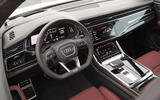 Audi SQ8 2019 road test review - dashboard
