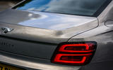 Bentley Flying Spur 2020 road test review - rear lights