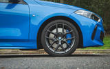 BMW 1 Series 118i 2019 road test review - alloy wheels