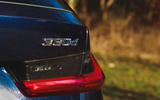 BMW 3 Series Touring 2020 road test review - 330d badge