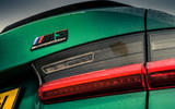 8 bmw m3 competition 2021 uk first drive review ok rear lights