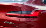 BMW X4 2018 road test review rear lights