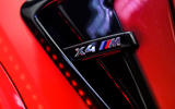 BMW X4 M Competition 2019 road test review - air intake