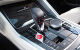 BMW X5 M Competition 2020 road test review - centre console