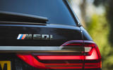 BMW X7 2020 road test review - rear badge