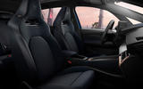 8 Cupra Born 2021 first drive review cabin
