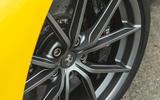 Ferrari 488 Pista 2019 road test review - wheel detail