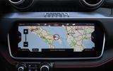 Ferrari Portofino review infotainment