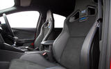 Ford Focus RS 2019 road test review - bucket seats