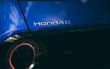 Honda e 2020 road test review - rear lights