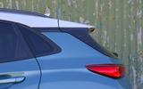 Hyundai Kona Electric 2018 road test review - rear pillars