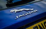 Jaguar E-Pace review boot logo