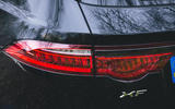 Jaguar XF Sportbrake 2019 road test review - rear lights