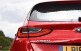 Kia Ceed 2018 road test review rear lights