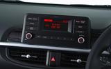 Kia Picanto review infotainment