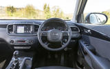Kia Sorento 2018 road test review dashboard