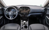 Kia Soul EV 2019 European first drive - dashboard