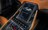8 lamborghini sian 2021 uk first drive review centre console