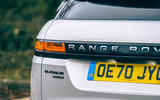 8 Land Rover Range Rover Evoque 2021 road test review rear lights