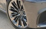 Lexus LS500h 2018 road test review alloy wheels
