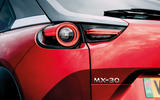 8 Mazda MX 30 2021 road test review rear lights