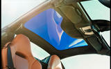 McLaren 720S Spider 2019 road test review - sunroof