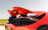 McLaren 765LT 2020 road test review - rear lights