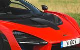 McLaren Senna 2018 road test review - bonnet