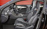 Mercedes-AMG C63 Coupé 2019 road test review - cabin