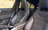 Mercedes-AMG CLA35 2020 road test review - front seats