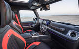 Mercedes-AMG G63 2018 review cabin