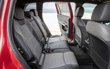Mercedes-AMG GLB 35 2020 road test review - middle row seats