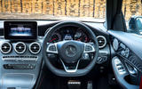 Mercedes-AMG GLC 43 road test review - steering wheel