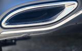 Mercedes-Benz A250e 2020 road test review - exhaust