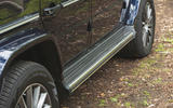 Mercedes-Benz G-Class 2019 road test review - side skirts